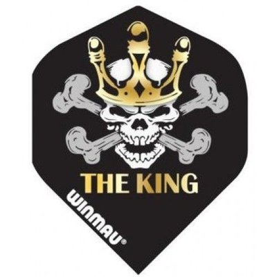 Winmau Standard 'The King' Ailettes Black