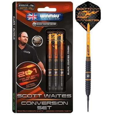 Winmau Scott Waites Brass - Converter Set