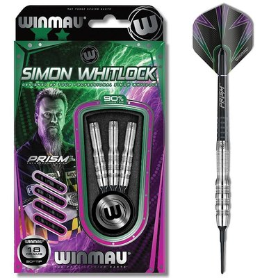 Winmau Simon WhitlockSilver 90% Soft Tip