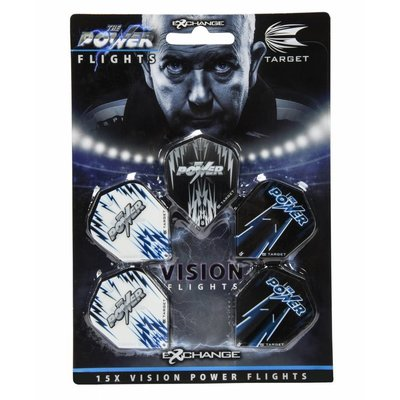 Target Phil Taylor Power Vision Ailettess 5-Pack