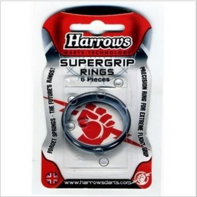 Harrows Supergrip Rings 6 Pièces