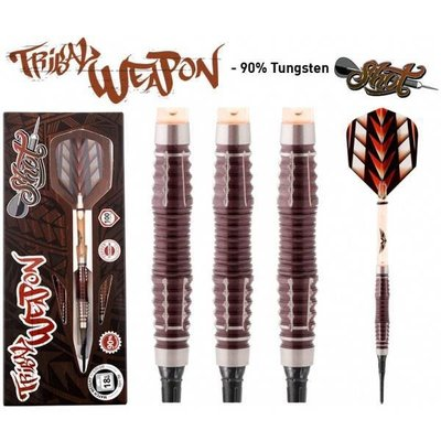 Shot! Tribal Weapon 3 Centre Weight 90% Soft Tip