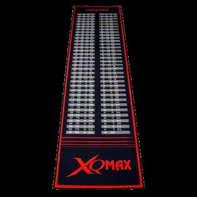 XQMax Check Out Dartmat Red/Black