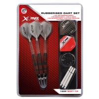 XQMax Darts XQMax Rubberised jeu de fléchettes Soft Tip