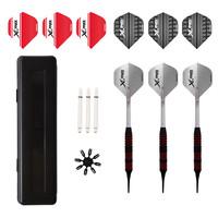 XQMax Darts XQMax Rubberised Dart Set Soft Tip