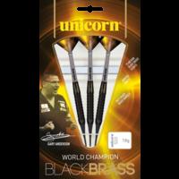 Unicorn Unicorn Gary Anderson World Champion Black Brass Soft Tip