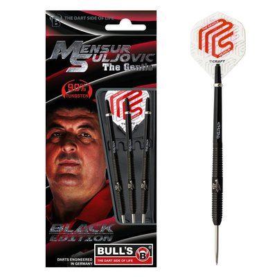 Bull's Mensur Suljovic 90% Black Edition