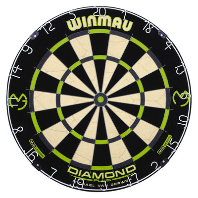 Cible Winmau MvG Diamond
