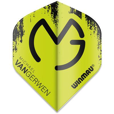 Michael van Gerwen Mega Standard Ailettes Green