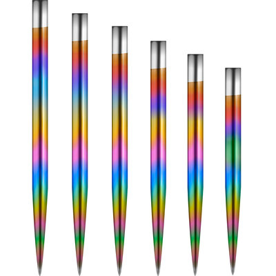 Mission Glide Dart Points - Rainbow