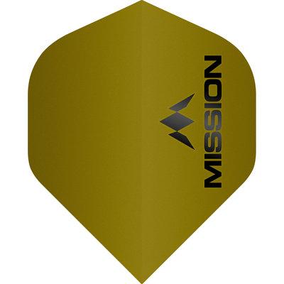Mission Logo Std No2 Matte Yellow
