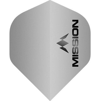 Mission Logo Std No2 Matte Grey