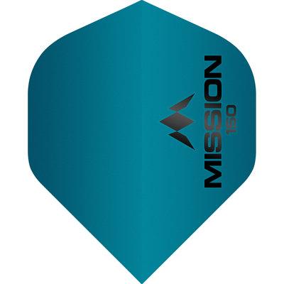 Mission Logo Std No2 - Blue - 150 Micron