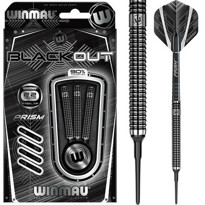 Winmau Blackout 90% Soft Tip