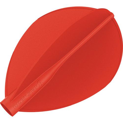 8 Flight 8 Ailettes Red Teardrop
