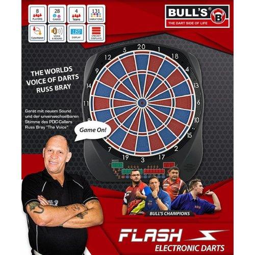 Bull's Germany Cible Flechette Electronique BULL'S Flash RB Sound