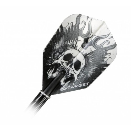 Target Target Vision Grey Skull With Wings