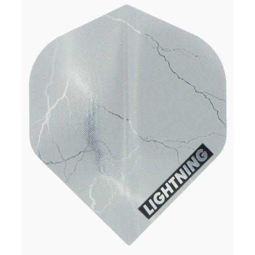 McKicks McKicks Metallic Lightning Ailettes Silver