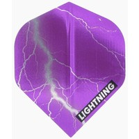 McKicks McKicks Metallic Lightning Ailettes Purple