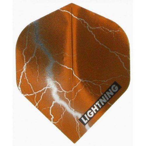 McKicks McKicks Metallic Lightning Ailettes Bruin