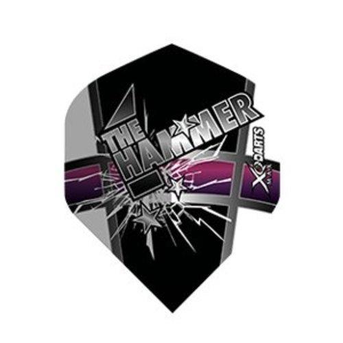 XQMax Darts Andy Hamilton Ailettess 'The Hammer'