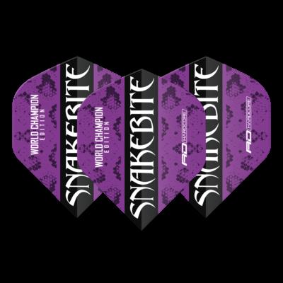 Snakebite World Champion 2020 Purple Ailettess