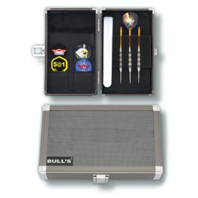 BULL'S Dartsafe Aluminium Case | L
