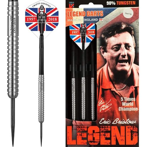 Legend Darts Eric Bristow Crafty Cockney 90% Silver