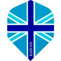 RAW RAW 100 Union Jack Ailettes Blue
