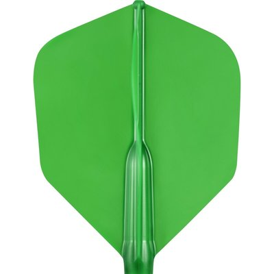 Cosmo Darts - Fit Ailettes AIR Green Shape