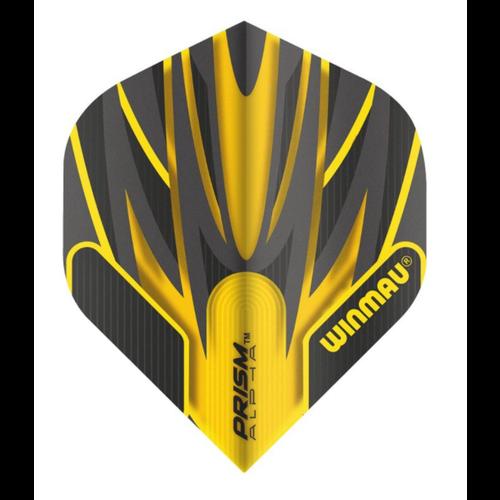 Winmau Ailette Winmau Prism Alpha Yellow & Black