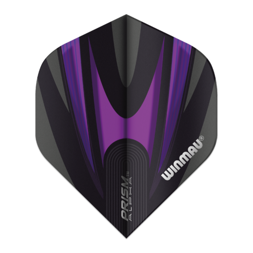 Winmau Ailette Winmau Prism Alpha Purple & Black