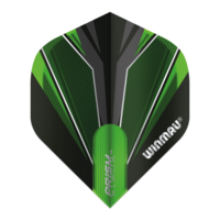 Winmau Ailette Winmau Prism Alpha Black & Green