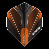 Winmau Ailette Winmau Prism Alpha Black & Orange