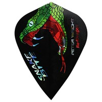 Red Dragon Ailette Peter Wright - Snakebite Holographic Kite