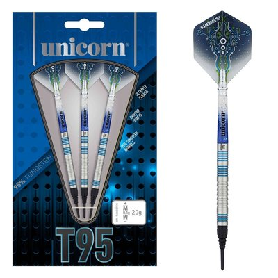 Unicorn Core XL T95 Blue 95%  Soft Tip