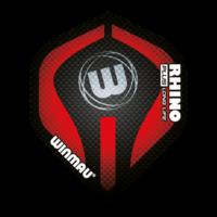 Winmau Ailette Winmau Rhino 150 Black & Red
