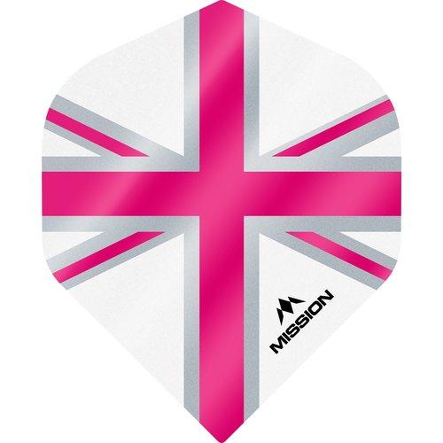 Mission Ailette Mission Alliance 100 White & Pink NO2