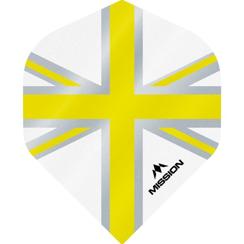 Mission Ailette Mission Alliance 100 White & Yellow NO2