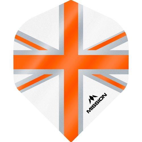 Mission Ailette Mission Alliance 100 White & Orange NO2