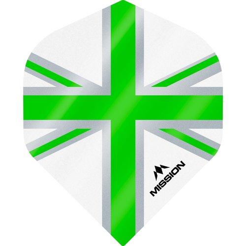 Mission Ailette Mission Alliance 100 White & Green NO2