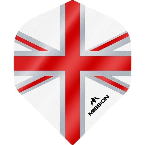 Mission Ailette Mission Alliance 100 White & Red NO2