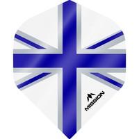 Mission Ailette Mission Alliance 100 White & Blue NO2
