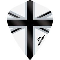 Mission Ailette Mission Alliance-X 100 White & Black Kite