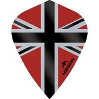 Mission Ailette Mission Alliance-X 100 Red & Black Kite