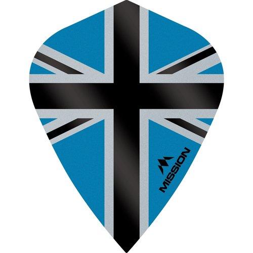 Mission Ailette Mission Alliance-X 100 Blue & Black Kite