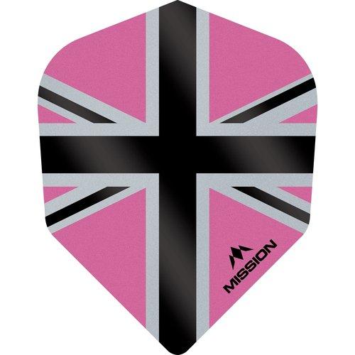Mission Ailette Mission Alliance-X 100 Pink & Black NO6