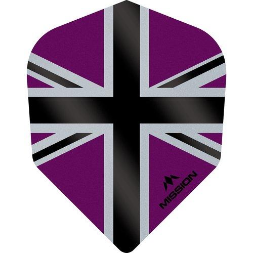 Mission Ailette Mission Alliance-X 100 Purple & Black NO6