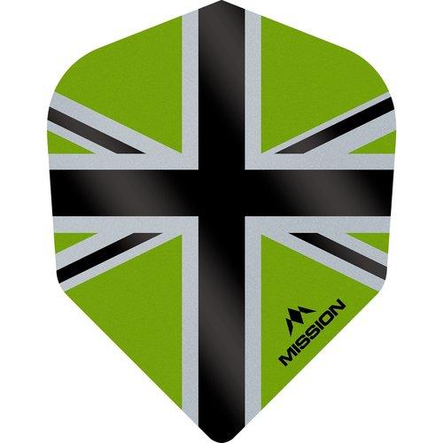 Mission Ailette Mission Alliance-X 100 Green & Black NO6