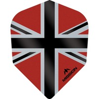 Mission Ailette Mission Alliance-X 100 Red & Black NO6